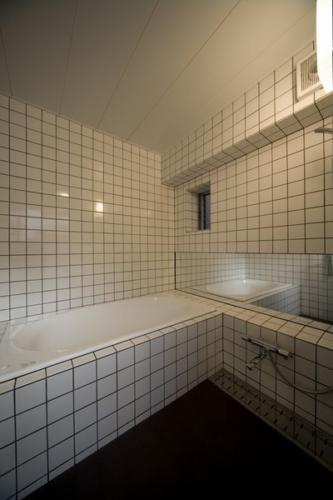 デザイナーズ 住宅 オリジナル 在来 浴室 シンプル モダン