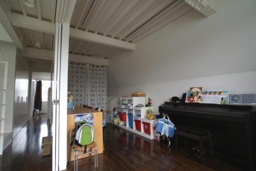 デザイナーズ 住宅 子供部屋 シンプル モダン