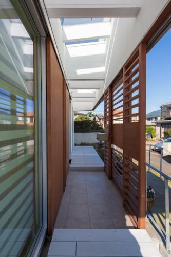 デザイナーズ 住宅 玄関 シンプル モダン