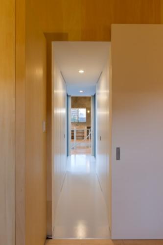 デザイナーズ 住宅 リビング 廊下 シンプル モダン 建築家
