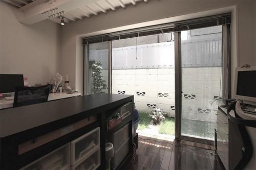 デザイナーズ 住宅 リビング アトリエ シンプル モダン 建築家