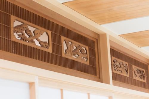 デザイナーズ 住宅 欄間 和 シンプル モダン