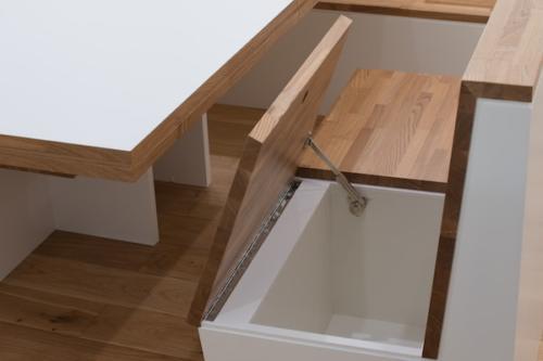 デザイナーズ 住宅 ベンチ 収納 シンプル モダン