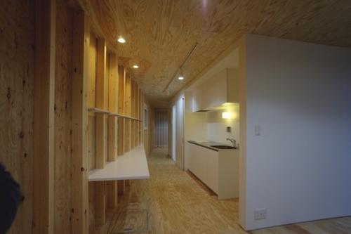 デザイナーズ 住宅 コンパクト キッチン シンプル モダン