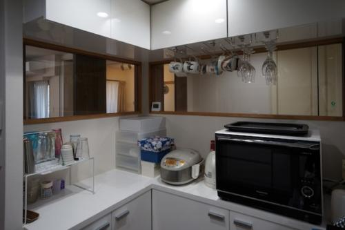デザイナーズ 住宅 キッチン カウンター シンプル モダン リノベーション