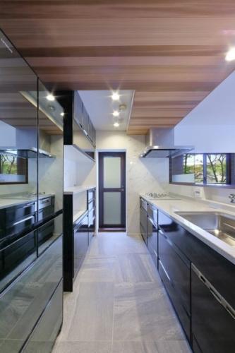 デザイナーズ 住宅 キッチン シンプル モダン リノベーション