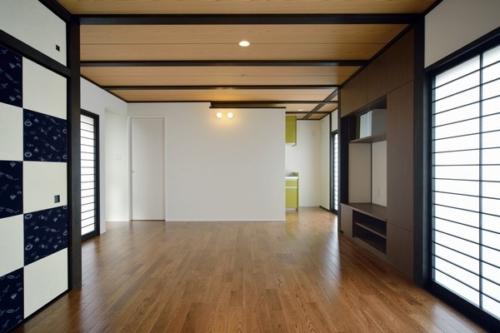 デザイナーズ 住宅 リビング ダイニング 和 シンプル モダン 建築家