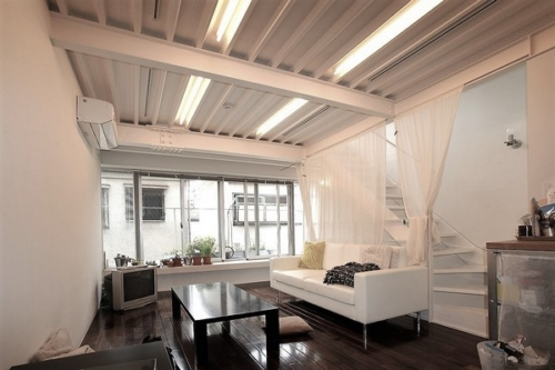 デザイナーズ 住宅 リビング ダイニング シンプル モダン 建築家 鉄骨