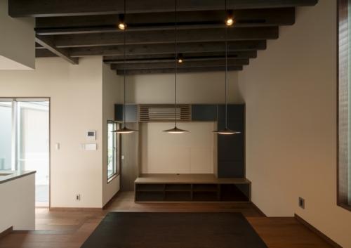 デザイナーズ 住宅 リビング ダイニング シンプル 和モダン 建築家