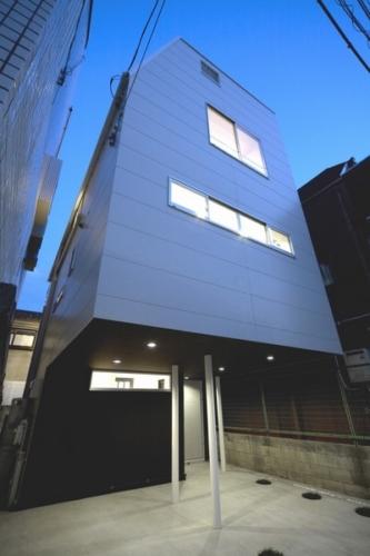 デザイナーズ 住宅 外観  サイディング 外壁 シンプル モダン 鉄骨