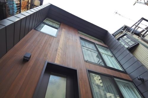 デザイナーズ 住宅 外観 外壁 シンプル モダン