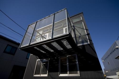 デザイナーズ 住宅 外観 ガルバリウム 外壁 シンプル モダン