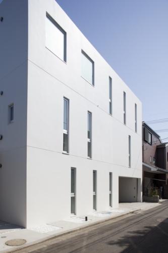 デザイナーズ 住宅 外観 コンクリート 外壁 シンプル モダン