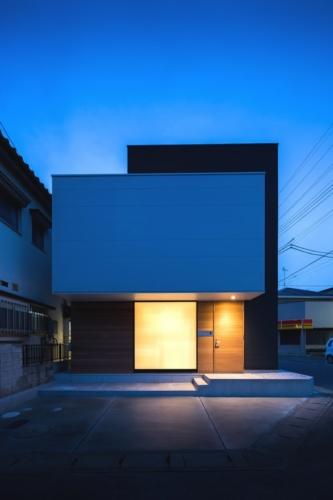 デザイナーズ 住宅 外観 ガルバリウム サイディング 外壁 シンプル モダン