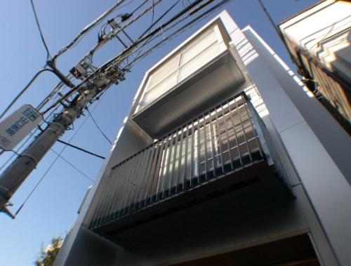 デザイナーズ 住宅 外観  外壁 シンプル モダン 鉄骨