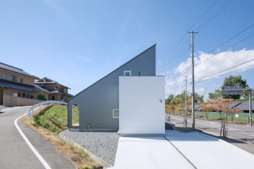デザイナーズ 住宅 外観 ガルバリウム サイディング 外壁 シンプル