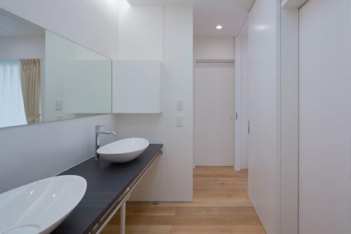 デザイナーズ 住宅 洗面 シンプル モダン