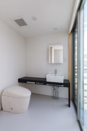 デザイナーズ 住宅 洗面 トイレ シンプル モダン